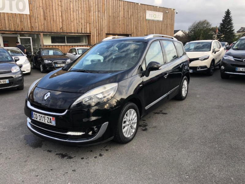 Renault SCENIC  GRAND III 1.6 DCI 130 BOSE  Diesel NOIR Occasion à vendre