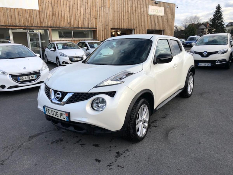 Nissan JUKE 1.2 DIG-T - 115 - STOP/START  CONNECT EDITION  Essence BLANC Occasion à vendre